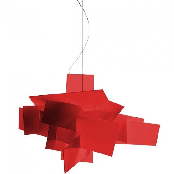 stockholms ljusbutik foscarini big bang pendel halogen r d belysning och lampor f r hem och. Black Bedroom Furniture Sets. Home Design Ideas