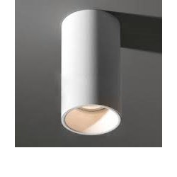 Modular Lotis Tubed Surface Vit/Vit Downlight Mr16 Exkl. Trafo&Ljuskälla