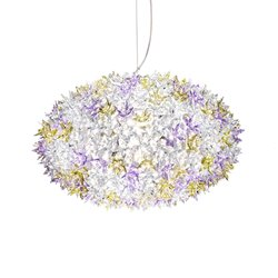 Kartell Bloom Pendel Rund Medium Lavendel