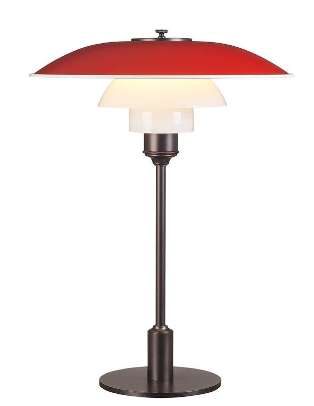 Stockholms Ljusbutik - Louis Poulsen PH3 1 2-2 1 2 Bordslampa Röd ... 450b7f05147eb