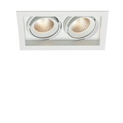Maxel Soho 2 Led 2-Lågig Vit Downlight 6W 40Gr 2700K