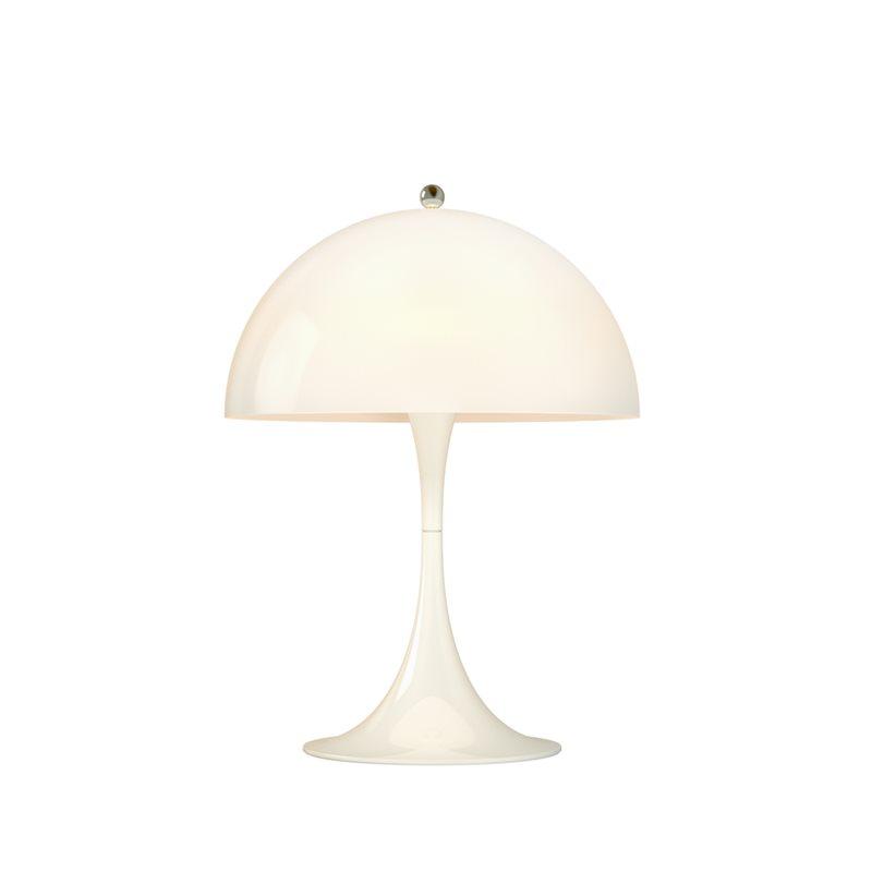 stockholms ljusbutik louis poulsen panthella bordslampa mini opalvit belysning och lampor. Black Bedroom Furniture Sets. Home Design Ideas