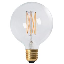 Pr Home Globlampa Led Elect Filament 95Mm 4W E27 Dimbar
