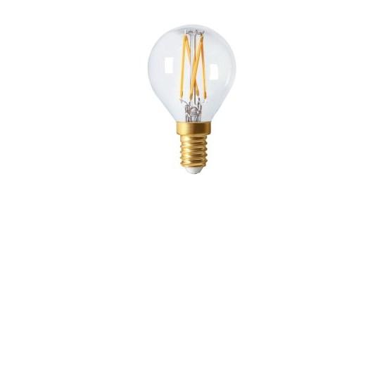LED lampa E14 elect filament 4,5cm 3,5W