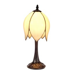 Nostalgia Design Konvalj B41-17 Bordslampa Tiffany