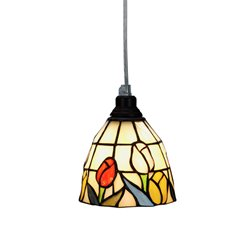 Nostalgia Design Tulipana T65-12 Fönsterlampa Tiffany