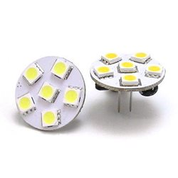 Frilight G4 Led 6 Smd White, Back Pin