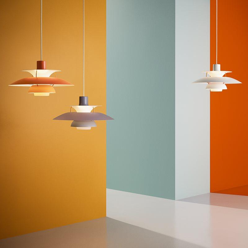 Stockholms Ljusbutik - Louis Poulsen Ph5 Pendel Modern White ... 2d7a515d62545