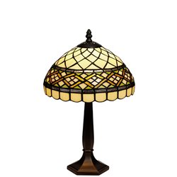 Nostalgia Design Retro B14-25 Bordslampa 25Cm Tiffany