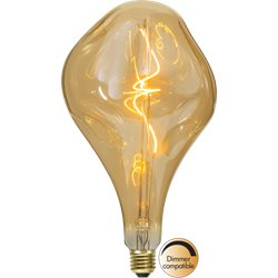 Star Trading Led Lampa A165 Ind Melt Amber 3,8W E27 Dimbar