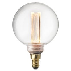 Pr Home Glob Led Filament 80Mm Dim Klar 2,3W E14 Future