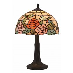 Norrsken Design Rosor B123057 Bordslampa Tiffany 30Cm