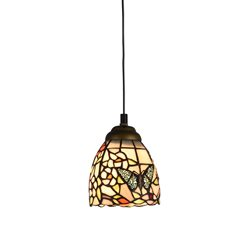 Norrsken Design Butterfly Lovers F053059 Fönsterlampa Tiffany